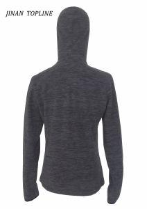 Women Sports Wear Polyester Micro Fleece Sports Wear pictures & photos