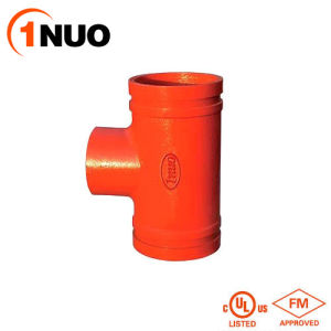 Ductile Iron Grooved Threaded Reducing Tee with FM/UL/Ce pictures & photos