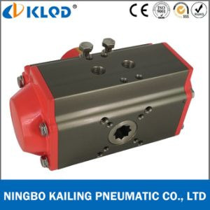 at-63D Double Acting Aluminum Alloy Material Air Torque Valve Actuators pictures & photos