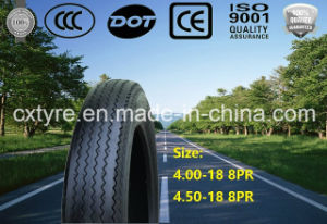 Top Quality Motorcycle Tire (4.00-18 8PR 4.50-18 8PR) pictures & photos