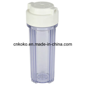 10 Inch Clear Water Filter Housing Kk-Fs-10-02 pictures & photos