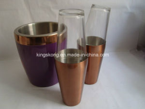 Copper/Stainless Steel Ice Bucket pictures & photos