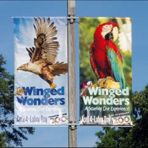 Banner Light Pole Brackets Saver Image Mounting Ads Flex Hardware pictures & photos