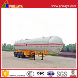 Liquid Gas Tanker Semi Trailer / Propane Storage LPG Trailer pictures & photos
