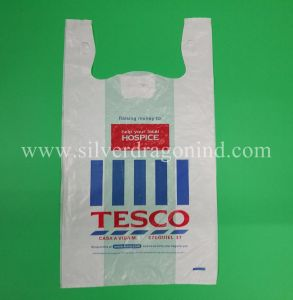 LDPE Plastic Shopping Bag with Printing, Carry out Bag Custom pictures & photos