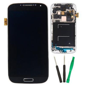 Bluelcd Display Touch Digitizer para Samsung Galaxy S4 I9500