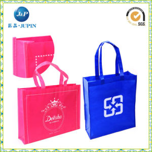 Custom Logo Printed Nonwoven Promotional Bag (JP-nwb007) pictures & photos