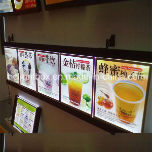 Restaurant Light Box Signs Menu Board