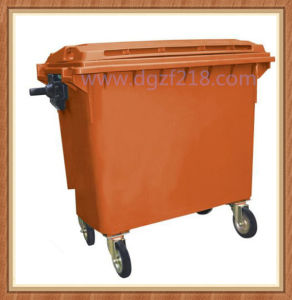 Superior Large Volume Sanitation Outdoor Plastic Dustbin for Sale pictures & photos