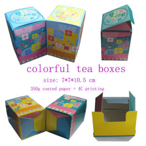 Printing Folding Paper Box for Tea, Tea Packaging Boxes pictures & photos