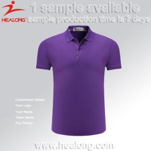 Healong Sportswear Hot Sale Silk Screen Printing Plain Golf Polo Shirt pictures & photos