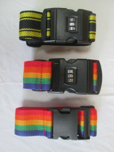 Adjustable Travel Promotional Colorful Good Quality PP Luggage Belt