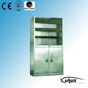 Stainless Steel Hospital Medical Medicine Cabinet (U-13) pictures & photos