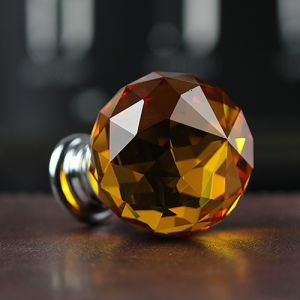 35mm Orange Crystal Ball Crafts for Room Decoration pictures & photos