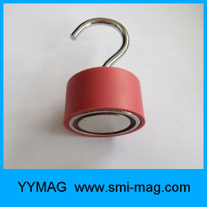 Red Rubber&Neodymium Magnet C Hanging Hook pictures & photos