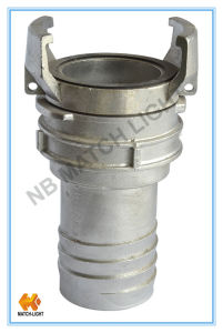 Stainless Steel Serrated Fire Hose French Coupling pictures & photos