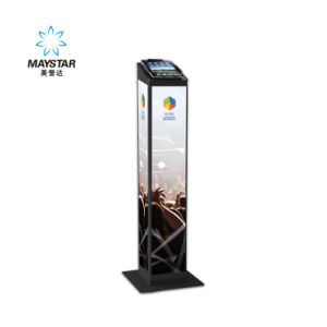Multimedia Network Shopping Mall Advertising Totem Touch Screen Kiosk pictures & photos