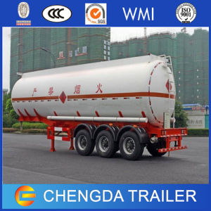 China 3 Axles 56m3 LPG Tanker Semi Trailer pictures & photos
