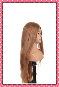 Human Hair Training Head Real Virgin Remy Hair Mannequin Head pictures & photos