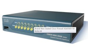 Brand New Sealed Cisco Firewall Asa5505-50-Bun-K8