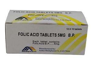 Folic Acid Tablets, Vitamin B9 Tablets, Western Medicine pictures & photos