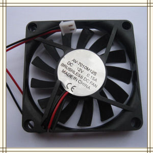 Brushless DC Cooling Fan 13 Blade 5V 7010s 2 Wire