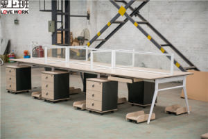 Office Desk Set Office Partition Workstation for 4 Person pictures & photos