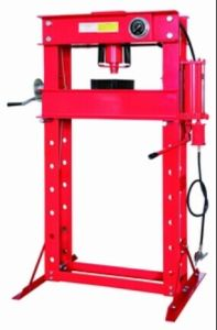 50t Shop Press with Gauge and Air Pump pictures & photos