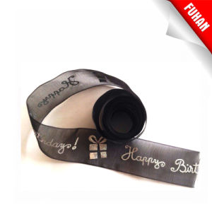 Puff Printed Organza Tape/Ribbon pictures & photos