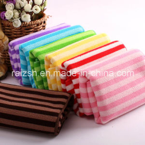 280 GSM Microfiber Warp Color Bar Towel Quick-Dry Absorbent Towel