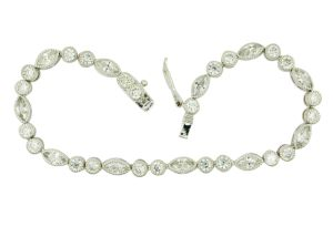 Wholesale 925 Silver Jewelry Tennis Bracelet for Women pictures & photos