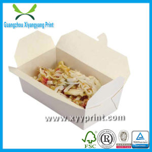 High Quality Take Away Paper Fast Food Box Wholesale pictures & photos