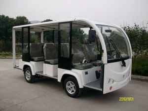 China, Mini, Tourist, 11 Seats, Airport Electric, Shuttle Bus pictures & photos
