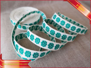 Swimwear Elastic Tape Clothing Polyester Woven Jacquard Tape pictures & photos