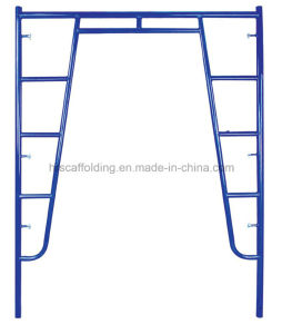 High Quality Steel Metal Construction System Walkthrough H Frame Scaffolding pictures & photos