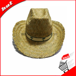 Mat Grass Natural Straw Promotional Hat pictures & photos