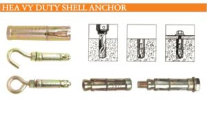 Three Shield Heavy Duty Anchor
