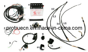 Spare Parts of Tricycle with Wires pictures & photos