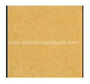 Polyester Fiber Fireproof Acoustic Panel (YZPF-008) for Ceiling