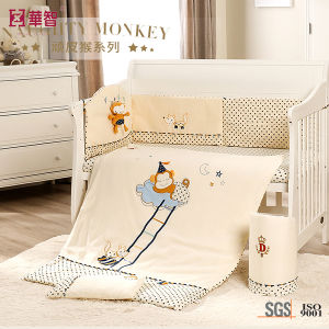 Cotton Baby Nursery Room Quilt Sets pictures & photos