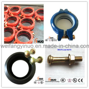 76.1mm/3 Inch Nodular Cast Iron Rigid Coupling FM/UL/Ce Approved pictures & photos