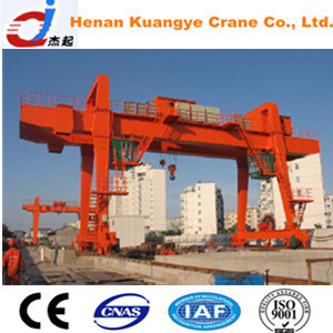 A Type 5-75/20t Double Girder Gantry/Door Crane with Hook