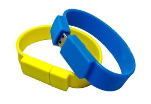 Bracelet Silicone USB Drive Disk pictures & photos