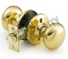 Tubular Cylindrical Knob Door Lock (WS3091PB-PS) pictures & photos