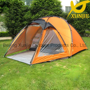 Double Layer Family Camping Tent Outdoor 5 Man Tent