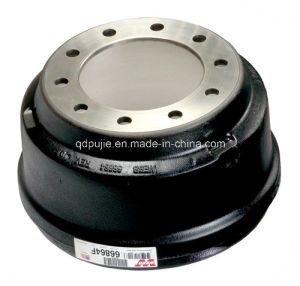 66864f Truck Brake Drums pictures & photos