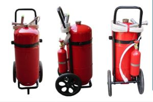 Foam Fire Extinguisher Trolley Equipment pictures & photos