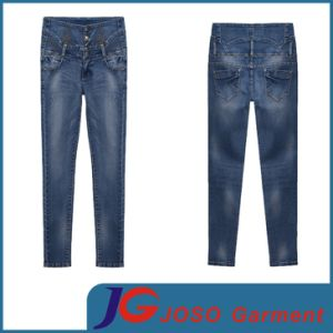 All Season Fashion Skinny High Waist Women Jean (JC1268) pictures & photos