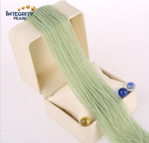 Wholesale Gemstone Loose Strand New Mountain Jade Size 2mm 3mm Natural Jade Stone pictures & photos