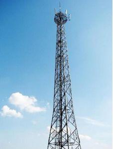 Hot-DIP Galvanized Medium-Wave Telecom Q345 Steel Tower (LT-17) pictures & photos
